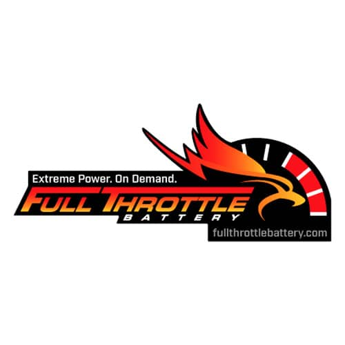 Full Throttle Battery Stickers & Decals