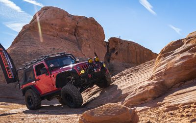 Gravity Defying Rock Crawling with Full Throttle Battery